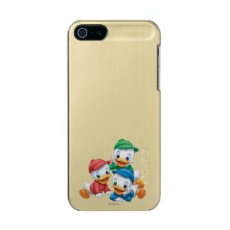 Huey, Dewey, and Louie | Pyramid Metallic Phone Case For iPhone SE/5/5s