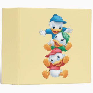 Huey, Dewey, and Louie | Stacked Binder