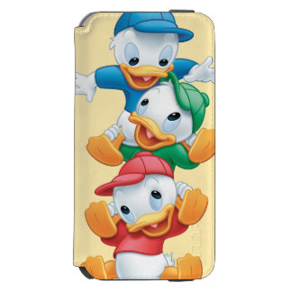Huey, Dewey, and Louie | Stacked iPhone 6/6s Wallet Case