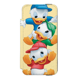 Huey, Dewey, and Louie | Stacked iPhone SE/5/5s Wallet Case