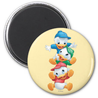 Huey, Dewey, and Louie | Stacked Magnet