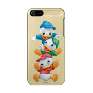 Huey, Dewey, and Louie | Stacked Metallic Phone Case For iPhone SE/5/5s