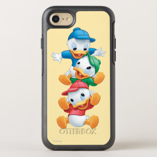 Huey, Dewey, and Louie | Stacked OtterBox Symmetry iPhone 7 Case