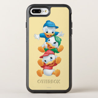 Huey, Dewey, and Louie | Stacked OtterBox Symmetry iPhone 7 Plus Case