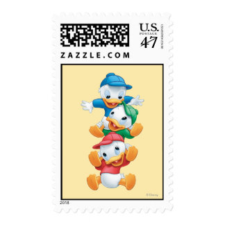 Huey, Dewey, and Louie | Stacked Postage