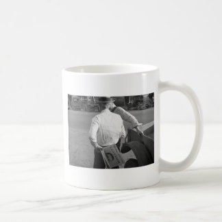Huey Long Supporter in Louisiana, 1930s Classic White Coffee Mug