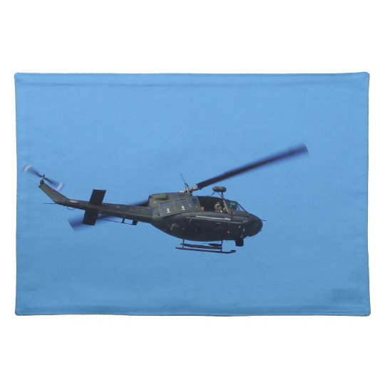 Huey over Malta Placemat