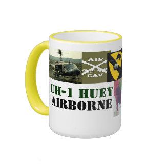 HUEY PATROL RINGER COFFEE MUG