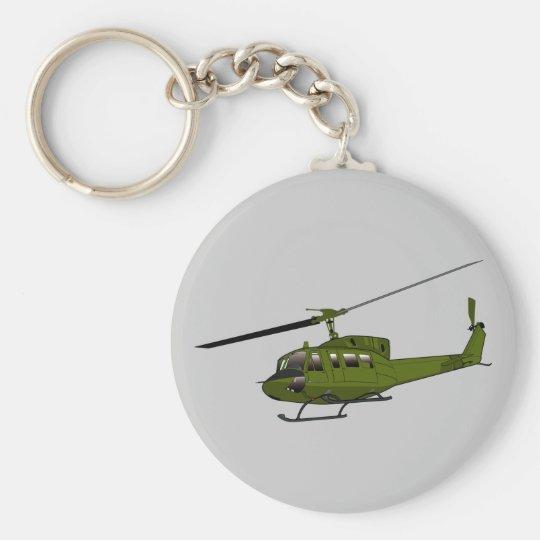 Huey - US Military Machines Keychain