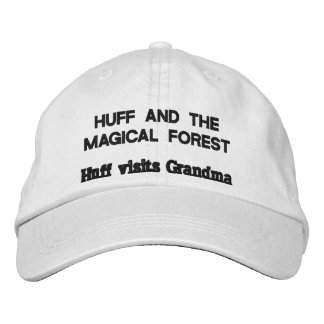 huff and the magical forest baseball cap