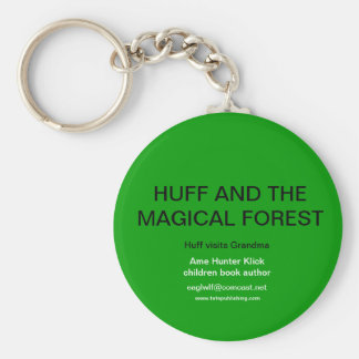 Huff and the Magical Forest Keychain