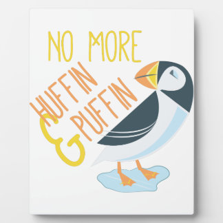 Huffin Puffin Photo Plaques