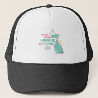 Huffing And Puffing Trucker Hat