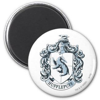 Hufflepuff Crest Blue Fridge Magnet