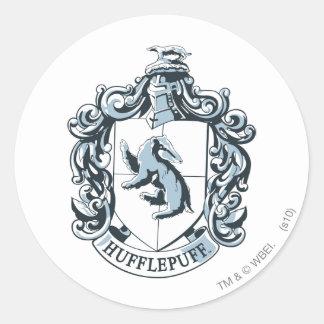 Hufflepuff Crest Blue Stickers