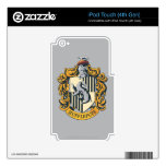 Hufflepuff Crest Decal For iPod Touch 4G
