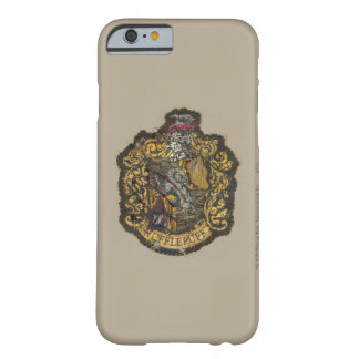 Hufflepuff Crest - Destroyed Barely There iPhone 6 Case