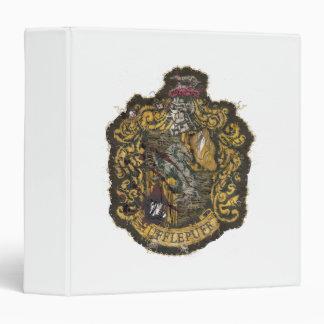 Hufflepuff Crest - Destroyed Vinyl Binder