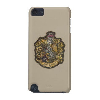 Hufflepuff Crest - Destroyed iPod Touch (5th Generation) Cases