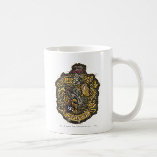 Hufflepuff Crest - Destroyed Coffee Mug