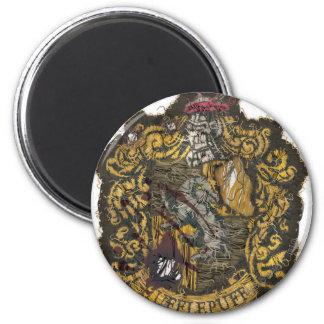Hufflepuff Crest - Destroyed Magnet