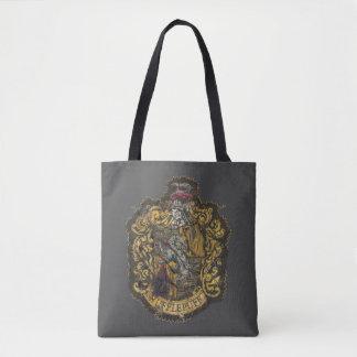 Hufflepuff Crest - Destroyed Tote Bag