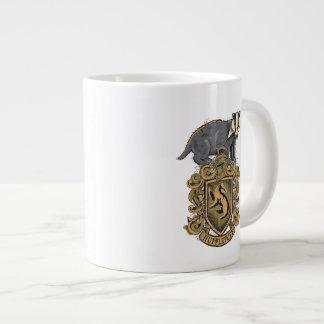 HUFFLEPUFF™ Crest Large Coffee Mug