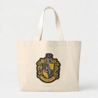 Hufflepuff Crest Large Tote Bag