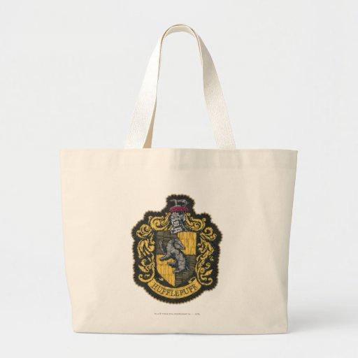 Hufflepuff Crest Large Tote Bag
