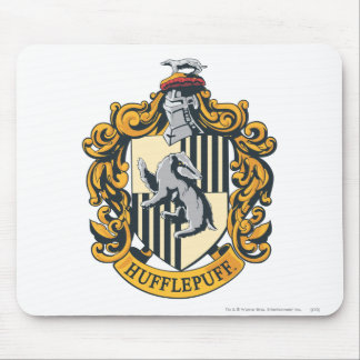 Hufflepuff Crest Mouse Pads