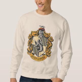 Hufflepuff Crest Pull Over Sweatshirts
