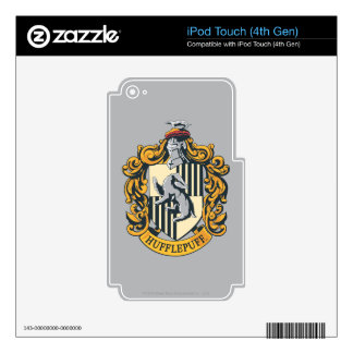 Hufflepuff Crest iPod Touch 4G Skins