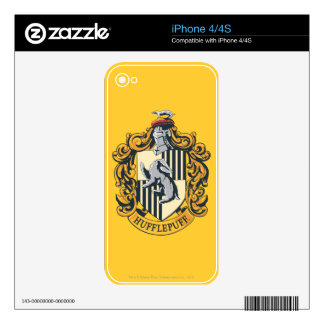 Hufflepuff Crest Skin For iPhone 4S