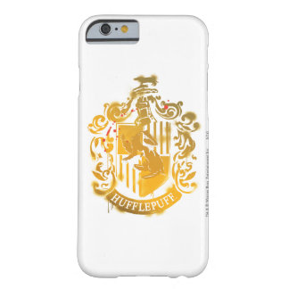 Hufflepuff Crest - Splattered Barely There iPhone 6 Case
