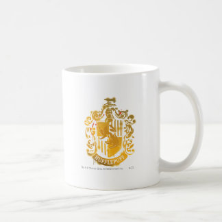 Hufflepuff Crest - Splattered Coffee Mug