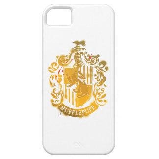 Hufflepuff Crest - Splattered iPhone SE/5/5s Case