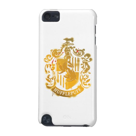 100% authentic 571b2 2b92e Hufflepuff Crest - Splattered iPod Touch 5G Case