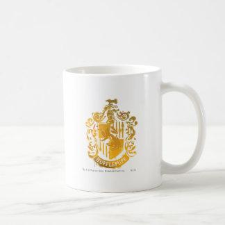 Hufflepuff Crest - Splattered Coffee Mugs