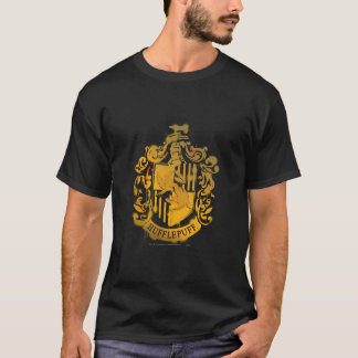 Hufflepuff Crest - Splattered T-Shirt