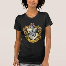 Hufflepuff Crest T-shirt at Zazzle