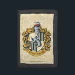 """Hufflepuff Crest Tri-fold Wallet<br><div class=""""desc"""">Hufflepuff Crest</div>"""
