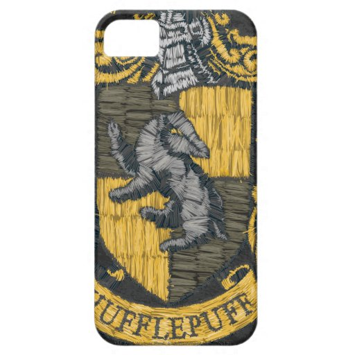 Hufflepuff Destroyed Crest iPhone 5 Cover