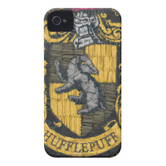 Hufflepuff Destroyed Crest iPhone 4 Case