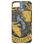 Hufflepuff destruyó el escudo iPhone 5 funda