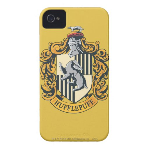 Hufflepuff House Crest Case-Mate iPhone 4 Cases