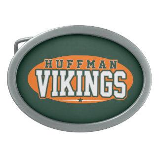 Huffman High School; Vikings Belt Buckle