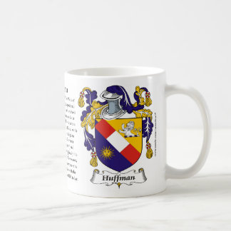 Huffman, the Origin, the Meaning and the Crest Mug