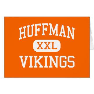 Huffman - Vikings - High - Birmingham Alabama Greeting Cards