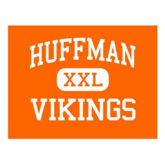 Huffman - Vikings - High - Birmingham Alabama Post Card