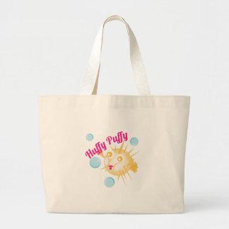 Huffy Puffy Jumbo Tote Bag